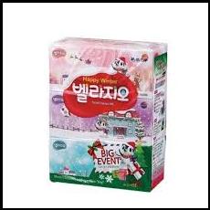 유한)벨라지오 꽃과향기각티슈200매 3p
