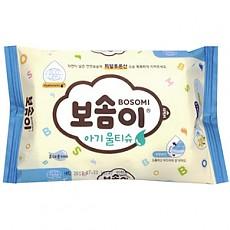 유한)보솜이물티슈 10매